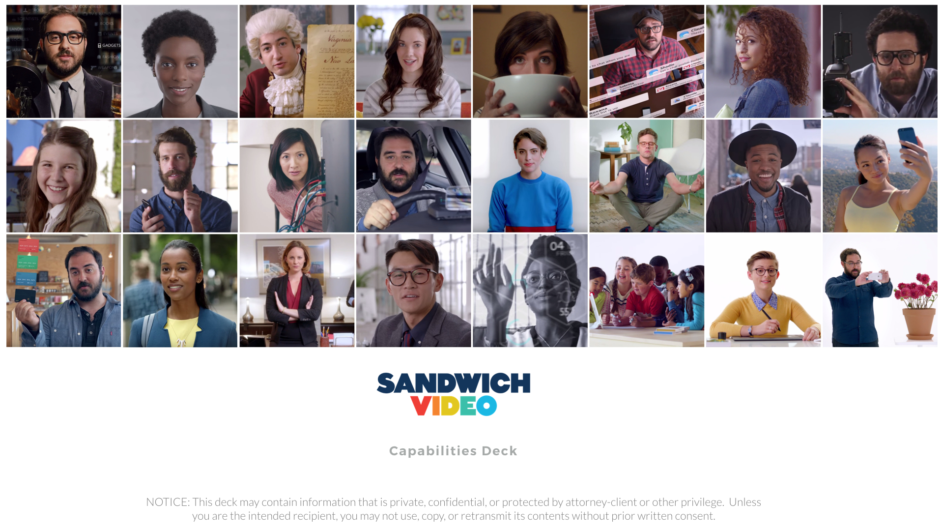 Sandwich Video Capabilities